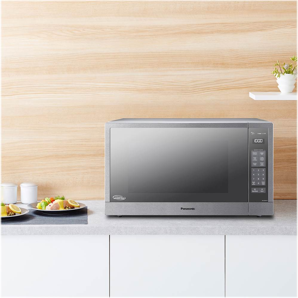 Panasonic Microwave Oven Stainless Steel Countertop Built